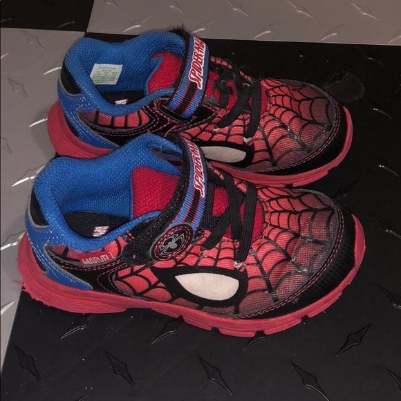 Stride Rite Spiderman Light Up Sneakers